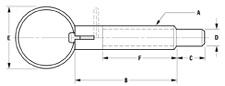 Knurled Knob Plunger Diagram